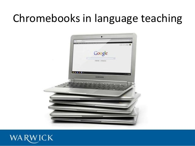 Chromebooks in language teaching