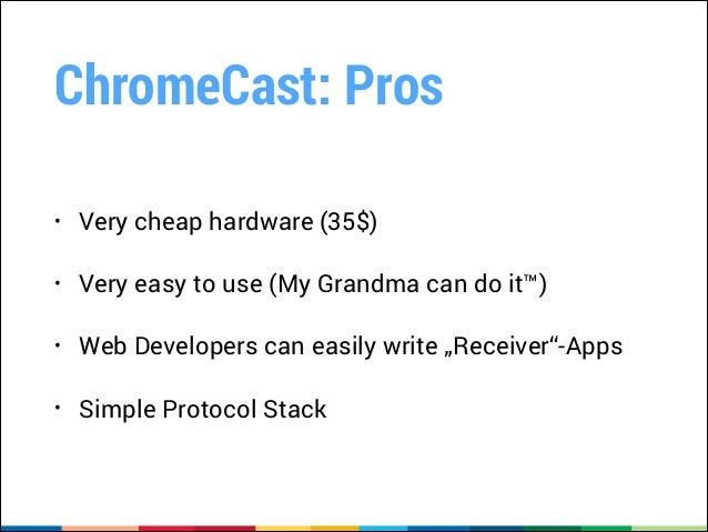 Chromecast, CheapCast and TV - DevFest Brussels 2013