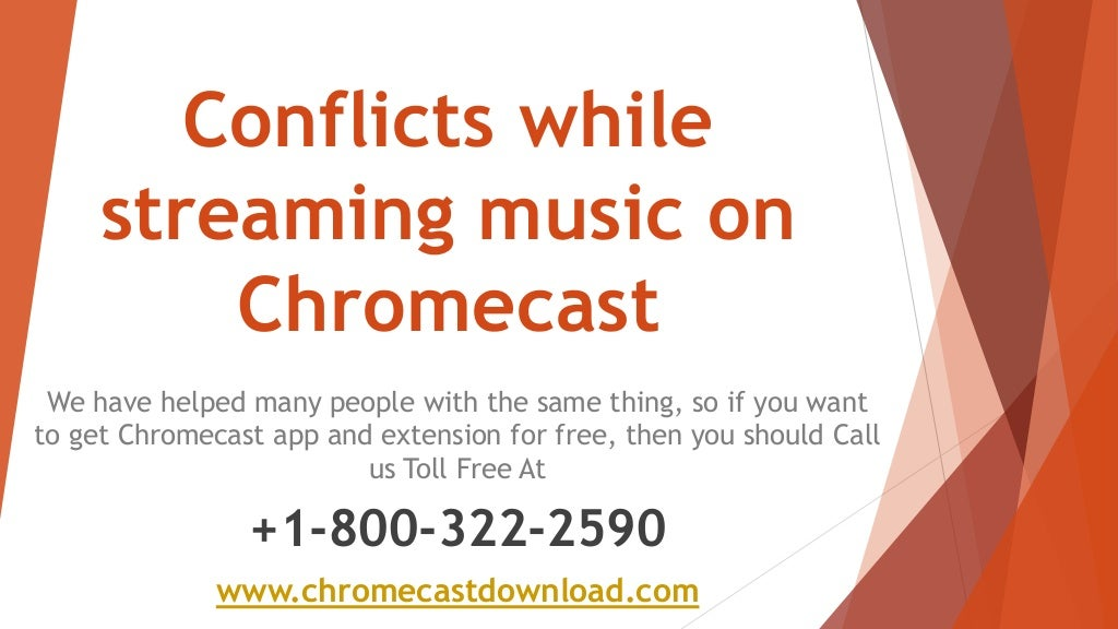 Chromecast extension download issues on music