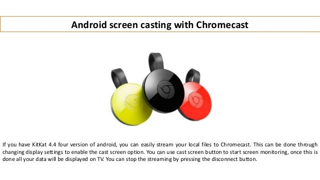 Chromecast setup 10 different ways in which you can stream local med…