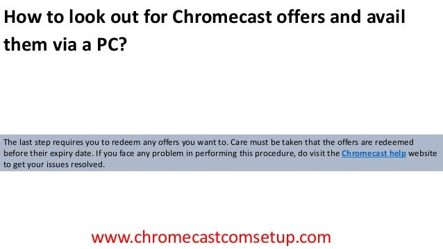 chromecast/offers