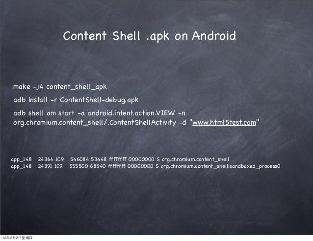 Chrome & Webkit overview