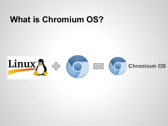 Chromium OS Introduction Slide 3