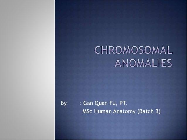 By : Gan Quan Fu, PT, MSc Human Anatomy (Batch 3)