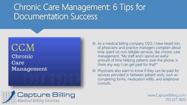 Chronic Care Management Tips For Documentation Success - Chronic care management template