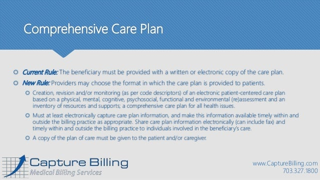 Chronic Care Management Coding Guidelines Effective
