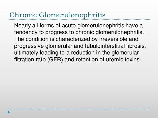 Chronic glomerulonephritis Slide 3