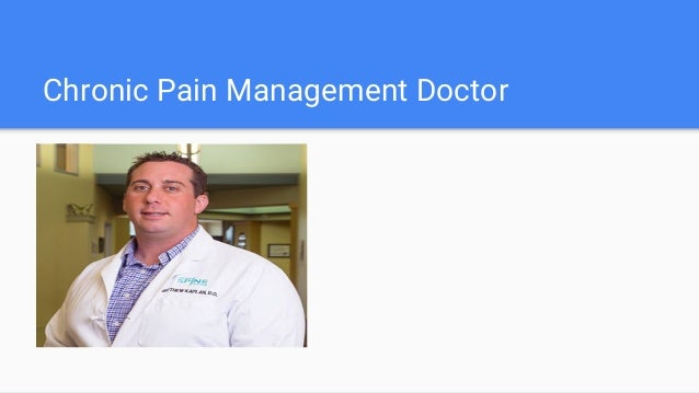 Chronic Pain Specialist in Austin,Tx