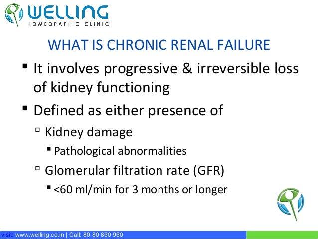 Treatment for Chronic Renal Failure / CKD Slide 3