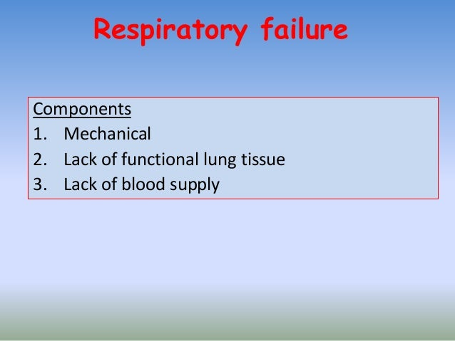 chronic respiratory failure 1, Skeleton