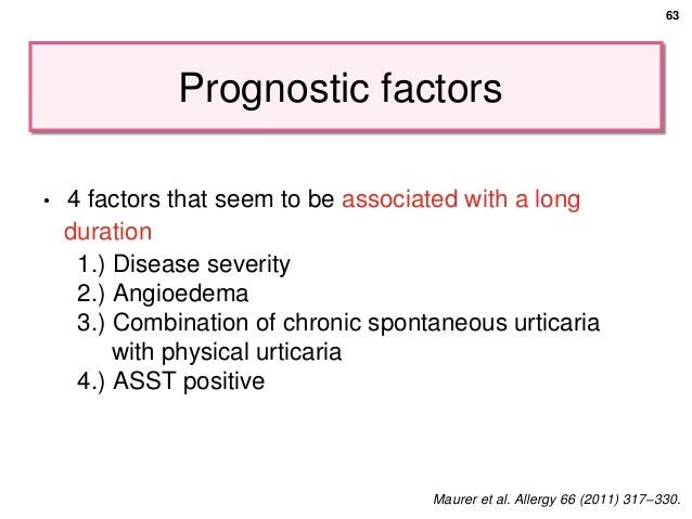 Chronic spontaneous urticaria (part 1)