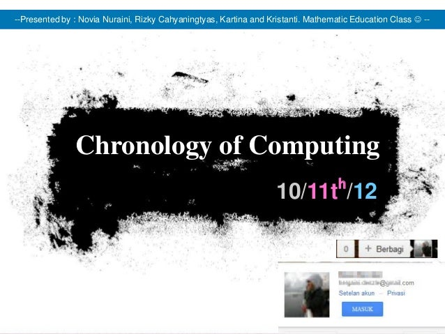 --Presented by : Novia Nuraini, Rizky Cahyaningtyas, Kartina and Kristanti. Mathematic Education Class  --               ...