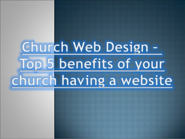  Discover why it has become imperative for Churches to invest in websites, to make sure they do not rely on the banks to ...