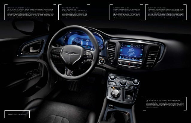 Uconnect Access App >> 2015 Chrysler 200 Los Angeles