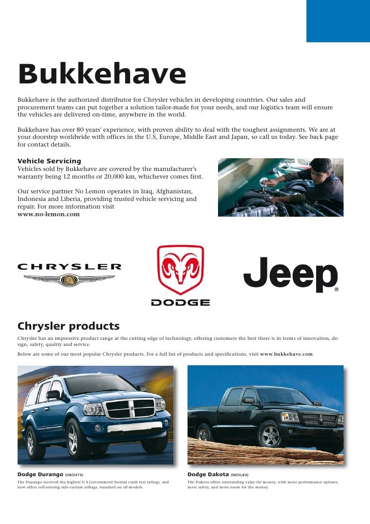 Wonderful ... Ancira Chrysler Jeep Dodge. Bukkehave Bukkehave Is The Authorized  Distributor For Chrysler Vehicles In Developing Countries.