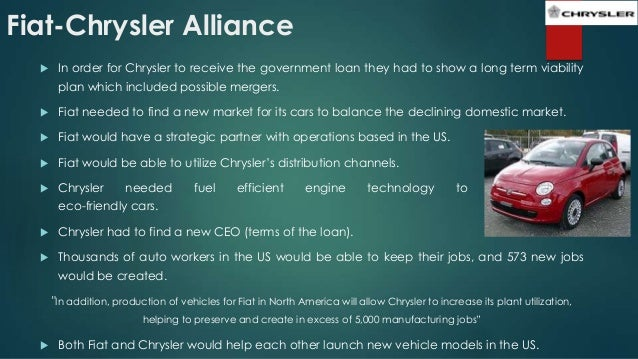 llc viable fiat alliance stand is chrysler and business strategic a chryslercab on benefits