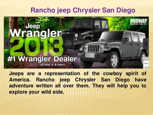 3. Rancho Jeep Chrysler San Diego ...