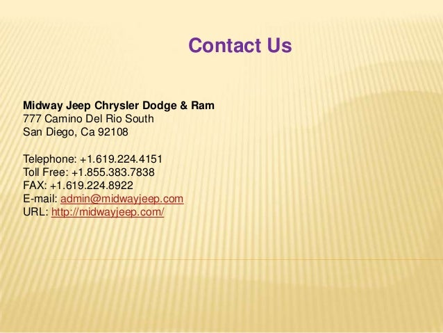 6. Contact Us Midway Jeep ...