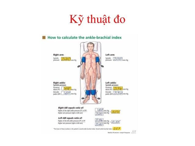Kỹ thuật đo • Đo tự động: – Chỉ cần lắp 1 lần các bộ phận đo ABI vào cổ chân và cánh tay ở cả hai bên của người bệnh sau đ...