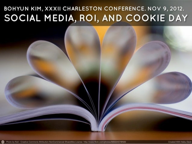 Social Media, ROI and Cookie Day