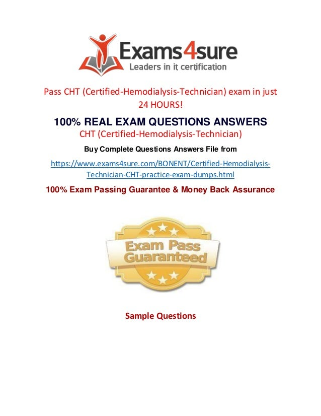 Cht Exam Questions