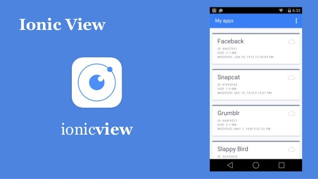 Ionic View ionicview