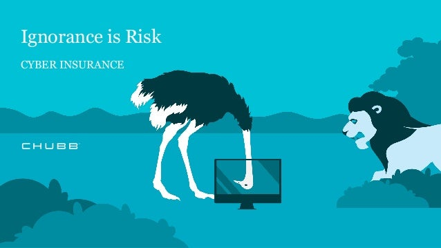 Ignorance is Risk CYBER INSURANCE