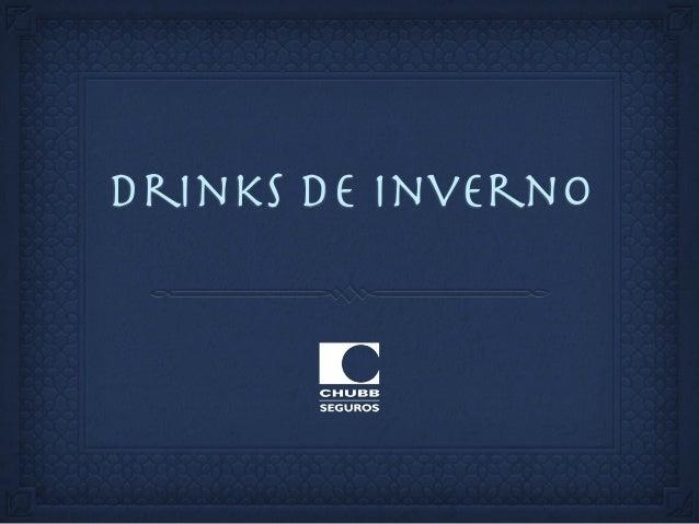 drinks de inverno
