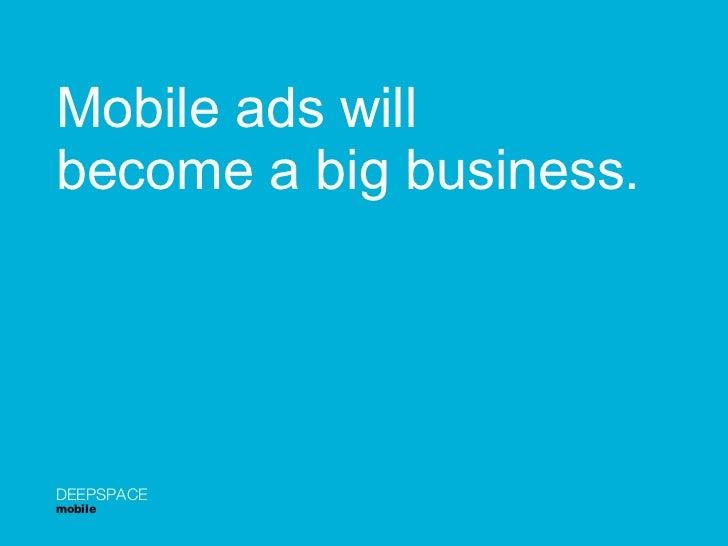 Chuck Levine's Mobile Presentation Slide 2