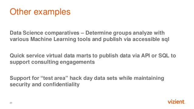 Other examples Data Science comparatives – Determine groups analyze with various Machine Learning tools and publish via ac...