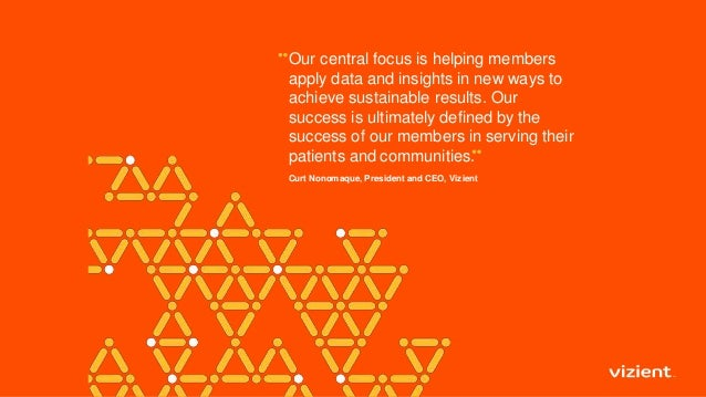 Our central focus is helping members apply data and insights in new ways to achieve sustainable results. Our success is ul...