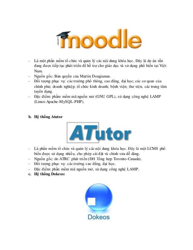 Chủ đề 3: Thiết kế một hệ e-learning theo ngữ cảnh Slide 3