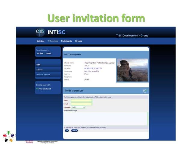 Confirmation form