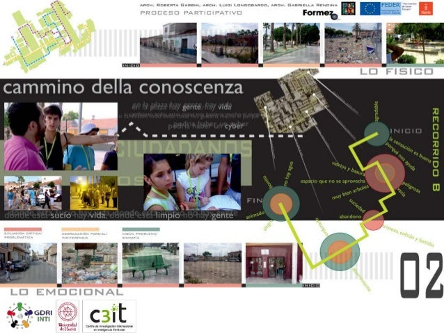 Path of knowledge. Presentation of results In order to share the results of the process with all citizens, an exhibition w...