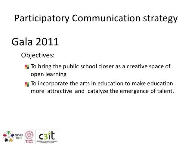 Participatory Communication strategy