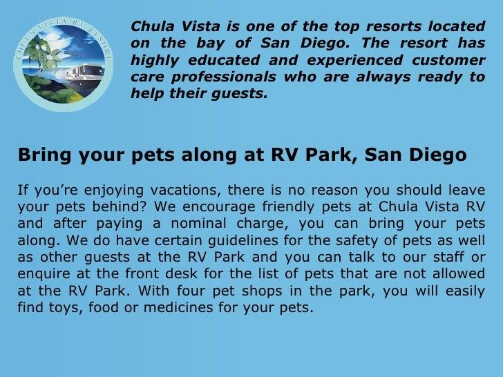Chula Vista Rv Resort Special: Enjoy Your Vacation At A San Diego RV Park