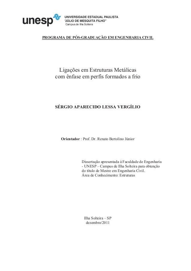 FICHA CATALOGRÁFICA Elaborada pela Seção Técnica de Aquisição e Tratamento da Informação Serviço Técnico de Biblioteca e D...