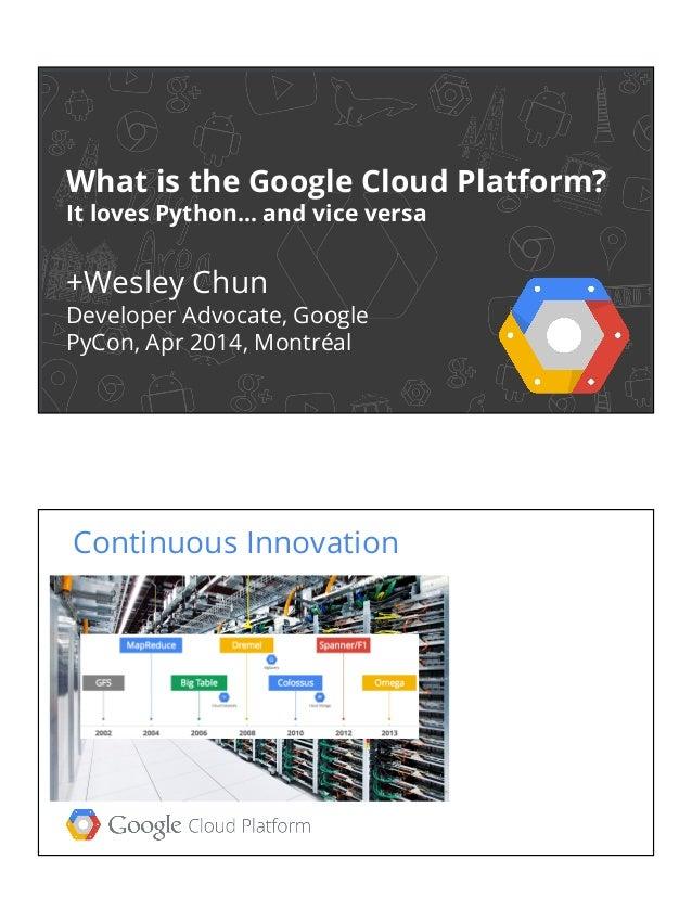 What is the Google Cloud Platform?