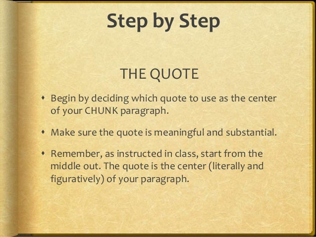 chunk paragraph template and examples 3