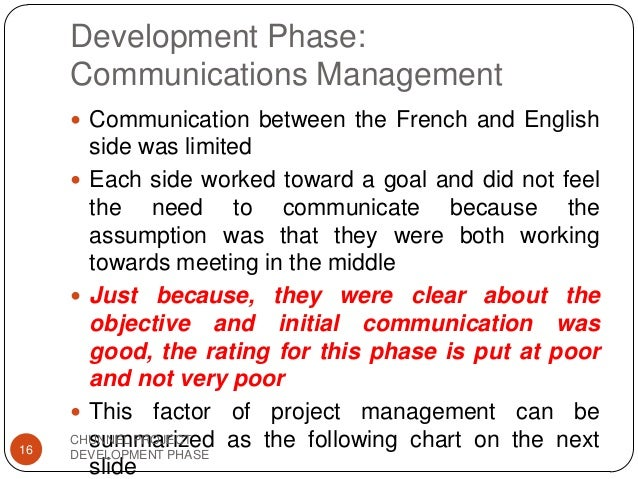 project stake holders chunnel 3004eng: project management principle analysis of the chunnel guri dam  projects name student number  report case study project - case 1+2 with  comments (excellent)  share in your facebook group  stakeholders  primary stakeholders eurotunnel (channel tunnel awarded concession  agreement to own,.