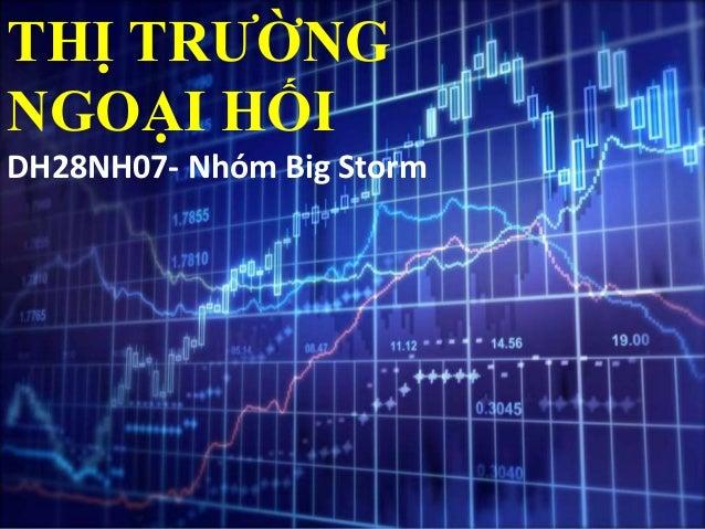 THỊ TRƯỜNG NGOẠI HỐI DH28NH07- Nhóm Big Storm