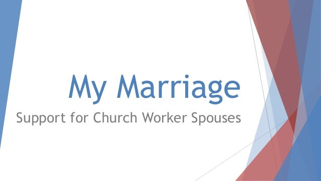 My Marriage Support for Church Worker Spouses