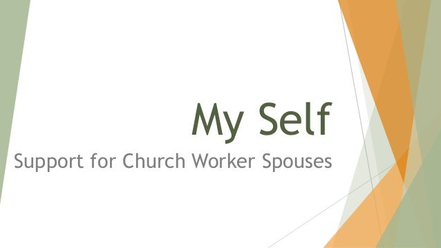 My Self Support for Church Worker Spouses