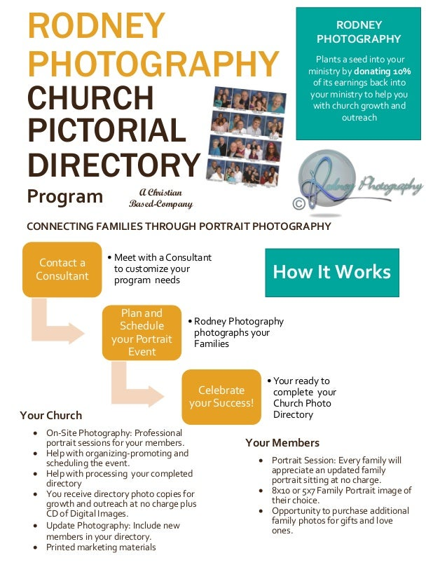 Unique Church Pictorial Directory Template Pictures - Resume ...
