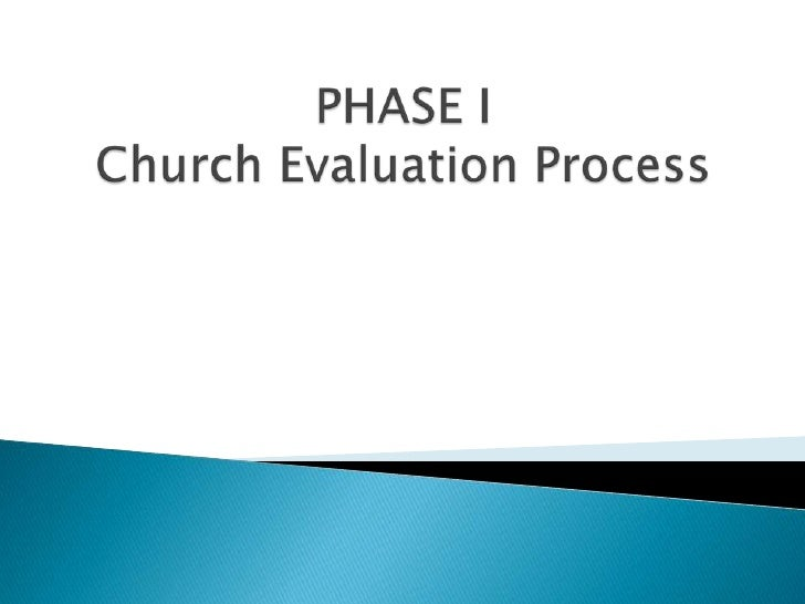 church ministry evaluation First baptist church newcastle, wyoming pastor evaluation date completed: please help the pastor to become a more effective shepherd by completing this evaluation.