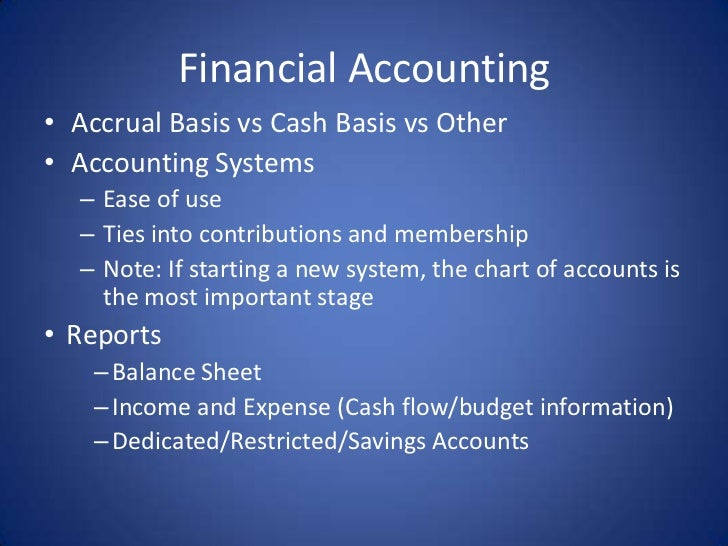 """financial accounting2 Define """"financial accounting"""" 2 understand the connection between financial accounting and the communication of information  whether it is gathering financial information about a."""