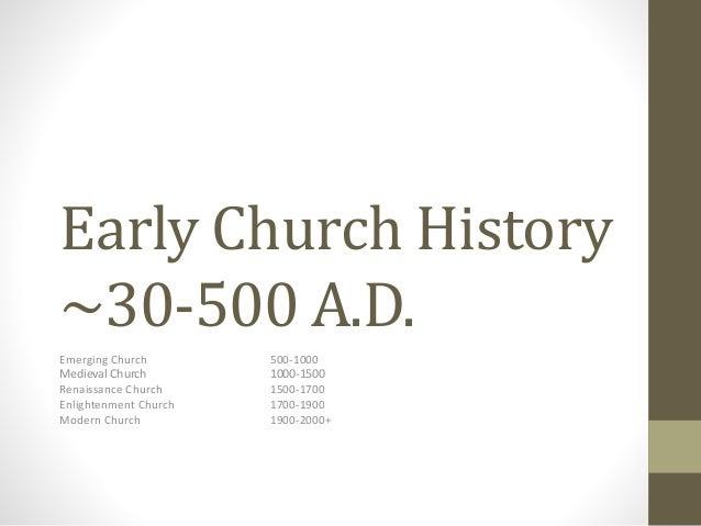 Church history early