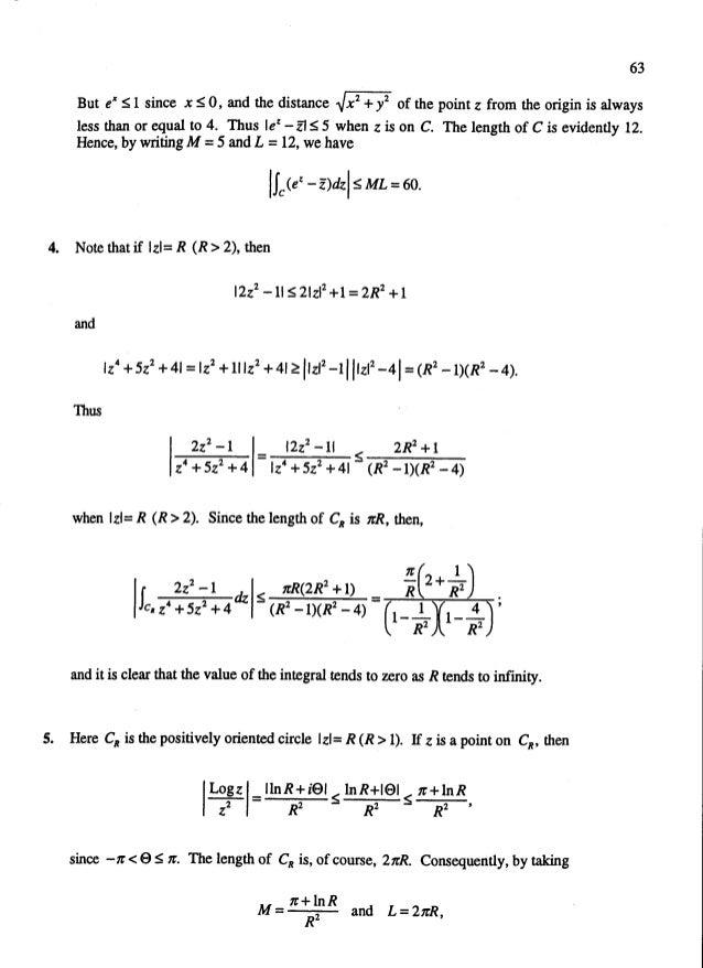 Solucionario del Chrurchill-Variable Compleja