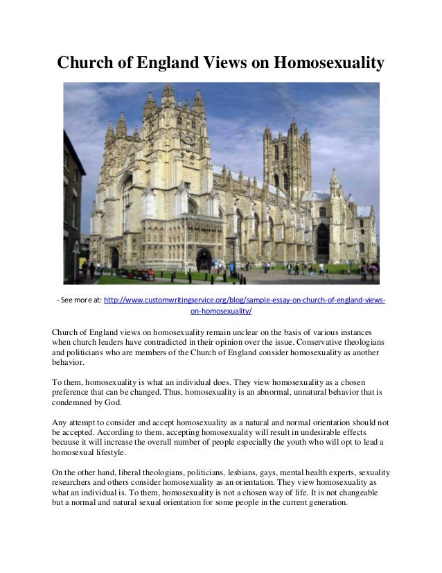church of england views on homosexuality church of england views on homosexuality see more at