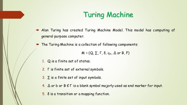 church turing thesis in toc